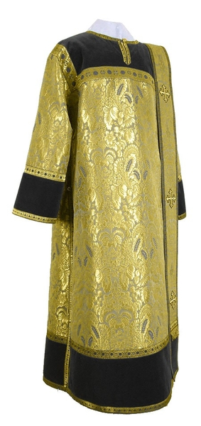 Deacon vestments - metallic brocade BG3 (black-gold)