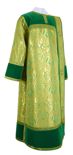 Deacon vestments - metallic brocade BG3 (green-gold)