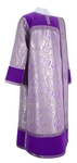 Deacon vestments - metallic brocade BG3 (violet-silver)
