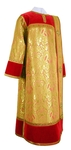 Deacon vestments - metallic brocade BG3 (red-gold)