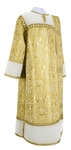 Deacon vestments - metallic brocade BG3 (white-gold)
