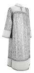 Deacon vestments - metallic brocade BG3 (white-silver)