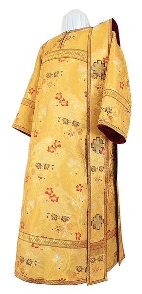 Deacon vestments - metallic brocade BG5 (yellow-gold)