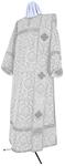 Deacon vestments - metallic brocade BG5 (white-silver)