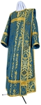 Deacon vestments - metallic brocade BG6 (blue-gold)