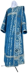 Deacon vestments - metallic brocade BG6 (blue-silver)