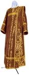 Deacon vestments - metallic brocade BG6 (claret-gold)