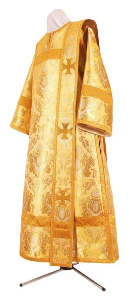 Deacon vestments - metallic brocade BG6 (yellow-gold)