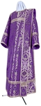 Deacon vestments - metallic brocade BG6 (violet-silver)