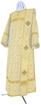 Deacon vestments - metallic brocade BG6 (white-gold)