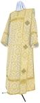 Deacon vestments - metallic brocade BG6 (white-gold)