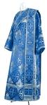 Deacon vestments - rayon brocade S2 (blue-silver)