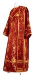 Deacon vestments - rayon brocade S2 (claret-gold)