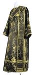 Deacon vestments - rayon brocade S2 (black-gold)