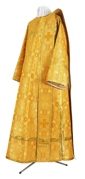 Deacon vestments - rayon brocade S2 (yellow-gold)