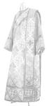 Deacon vestments - rayon brocade S2 (white-silver)