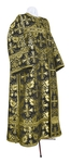 Deacon vestments - rayon brocade S3 (black-gold)
