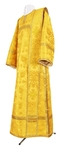 Deacon vestments - rayon brocade S3 (yellow-gold)
