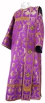 Deacon vestments - rayon brocade S3 (violet-gold)