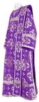Deacon vestments - rayon brocade S3 (violet-silver)