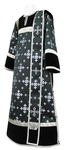 Deacon vestments - rayon brocade S3 (black-silver)