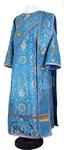 Deacon vestments - rayon brocade S4 (blue-gold)