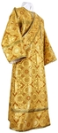 Deacon vestments - rayon brocade S4 (yellow-claret-gold)