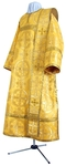 Deacon vestments - rayon brocade S4 (yellow-gold)