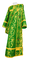 Deacon vestments - Bryansk rayon brocade S4 (green-gold), Economy design