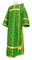 Deacon vestments - Cappadocia rayon brocade S4 (green-gold), Economy design