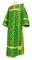 Deacon vestments - Cappadocia rayon brocade S4 (green-gold), Economy design