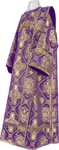 Deacon vestments - rayon brocade S4 (violet-gold)