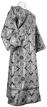 Deacon vestments - rayon brocade S4 (black-silver)