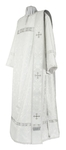 Deacon vestments - rayon brocade S4 (white-silver)
