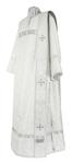 Deacon vestments - rayon brocade S4 (white-silver)