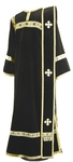 Deacon vestments - natural German velvet (black-gold)