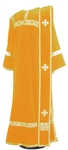 Deacon vestments - natural German velvet (yellow-gold)