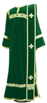 Deacon vestments - natural German velvet (green-gold)