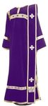 Deacon vestments - natural German velvet (violet-gold)