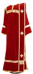 Deacon vestments - natural German velvet (red-gold)