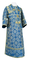 Subdeacon vestments - Altaj metallic brocade B (blue-gold), Standard design