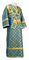 Subdeacon vestments - Ostrozh metallic brocade B (blue-gold), Standard design