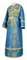 Subdeacon vestments - Vilno metallic brocade B (blue-gold), Standard design