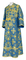 Subdeacon vestments - Pskov metallic brocade B (blue-gold), Standard design