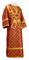 Subdeacon vestments - Ostrozh metallic brocade B (claret-gold), Standard design