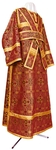 Subdeacon vestments - metallic brocade B (claret-gold)