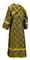 Subdeacon vestments - Ostrozh metallic brocade B (black-gold) back, Standard design