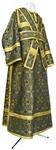 Subdeacon vestments - metallic brocade B (black-gold)