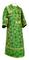 Subdeacon vestments - Altaj metallic brocade B (green-gold), Standard design