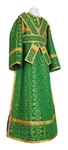 Subdeacon vestments - metallic brocade B (green-gold)